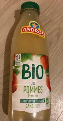 Jus de Pommes pressées Bio - Product