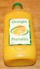 Oranges Pressées - Produit
