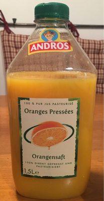 Pur jus pasteurisé orange pressées - Product