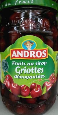 Fruits au sirop griottes dénoyautées - Produit - fr