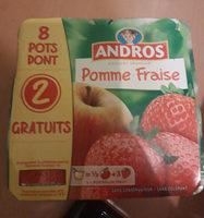 Dessert pommes fraises x8 - Product - fr