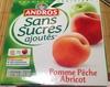 Pomme Pêche Abricot sans sucres ajoutés -