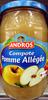 Compote Pomme allégée Andros - Produit