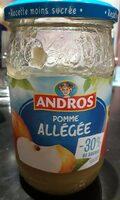 Compote de pomme allégée - Product - fr