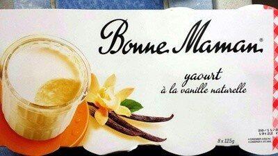 yaourt à la vanille naturelle - Produit - fr