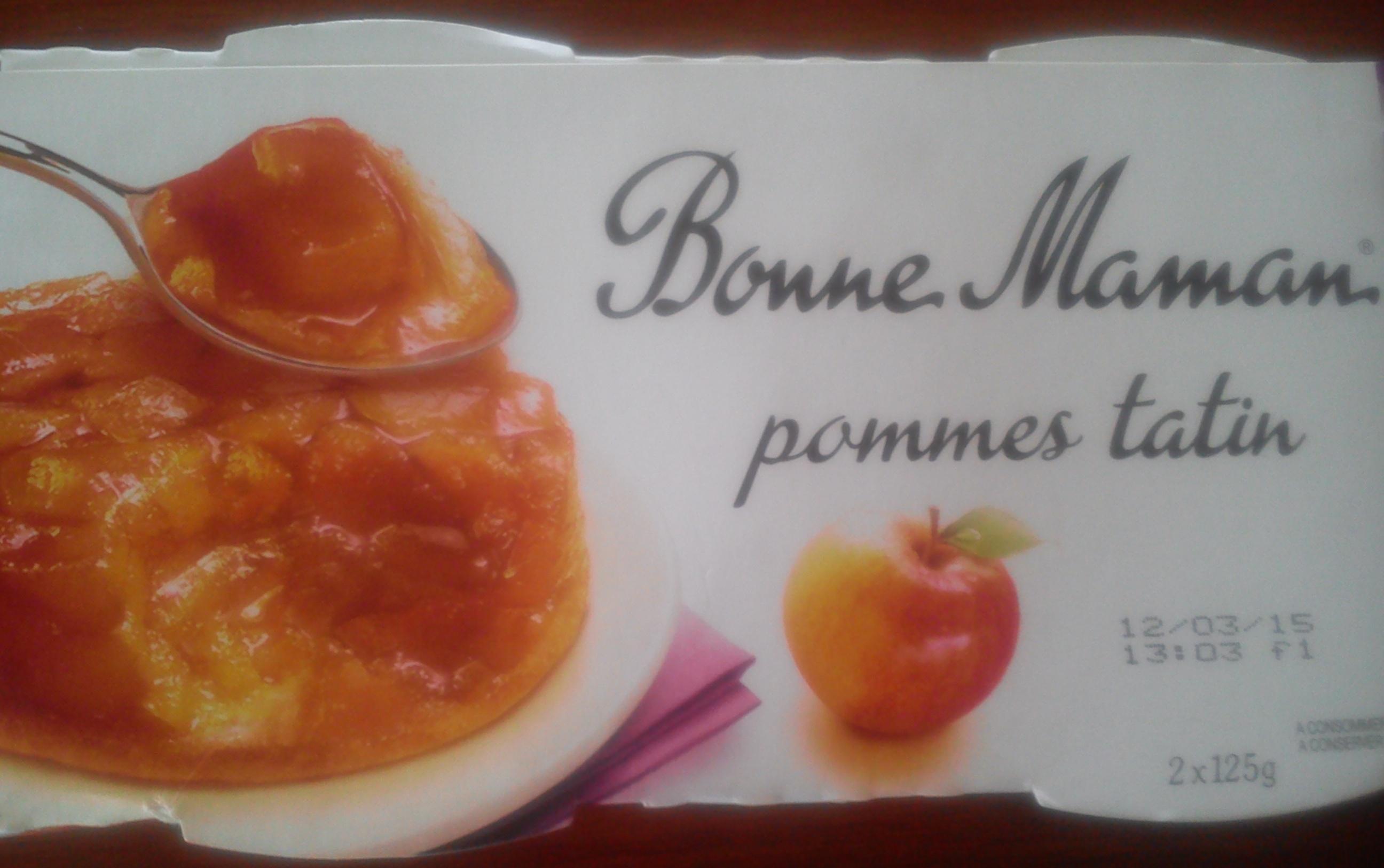 Pommes tatin - Produit