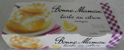 Tarte au citron meringuée - Produit