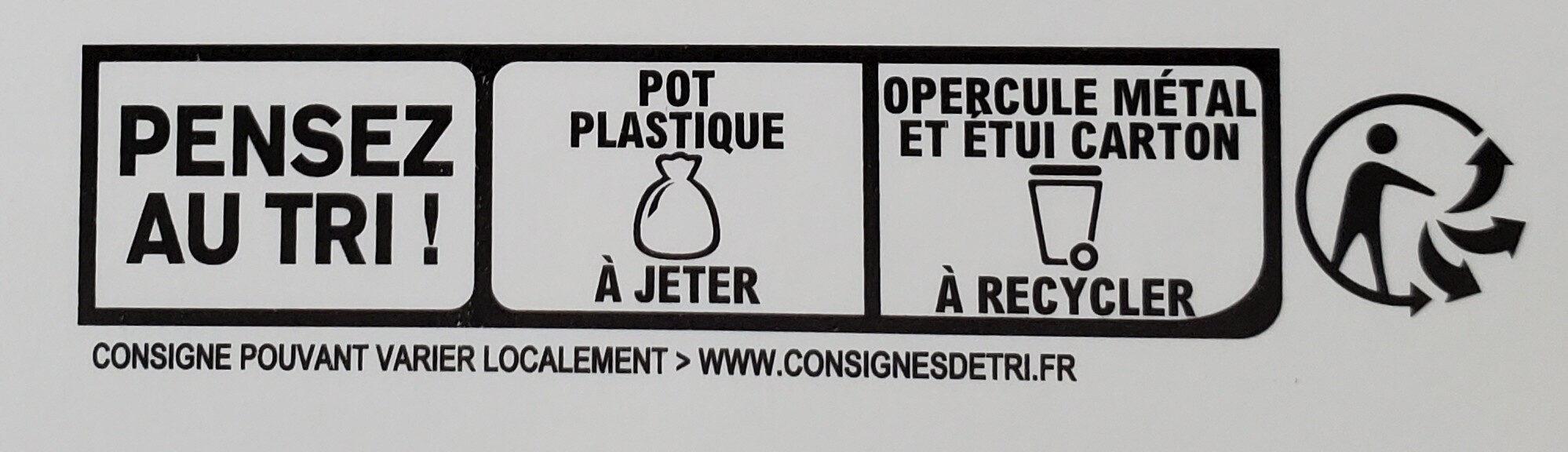 Tarte au citron meringuée - Instruction de recyclage et/ou informations d'emballage - fr