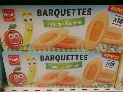 Barquettes Pomme-Banane - Produit