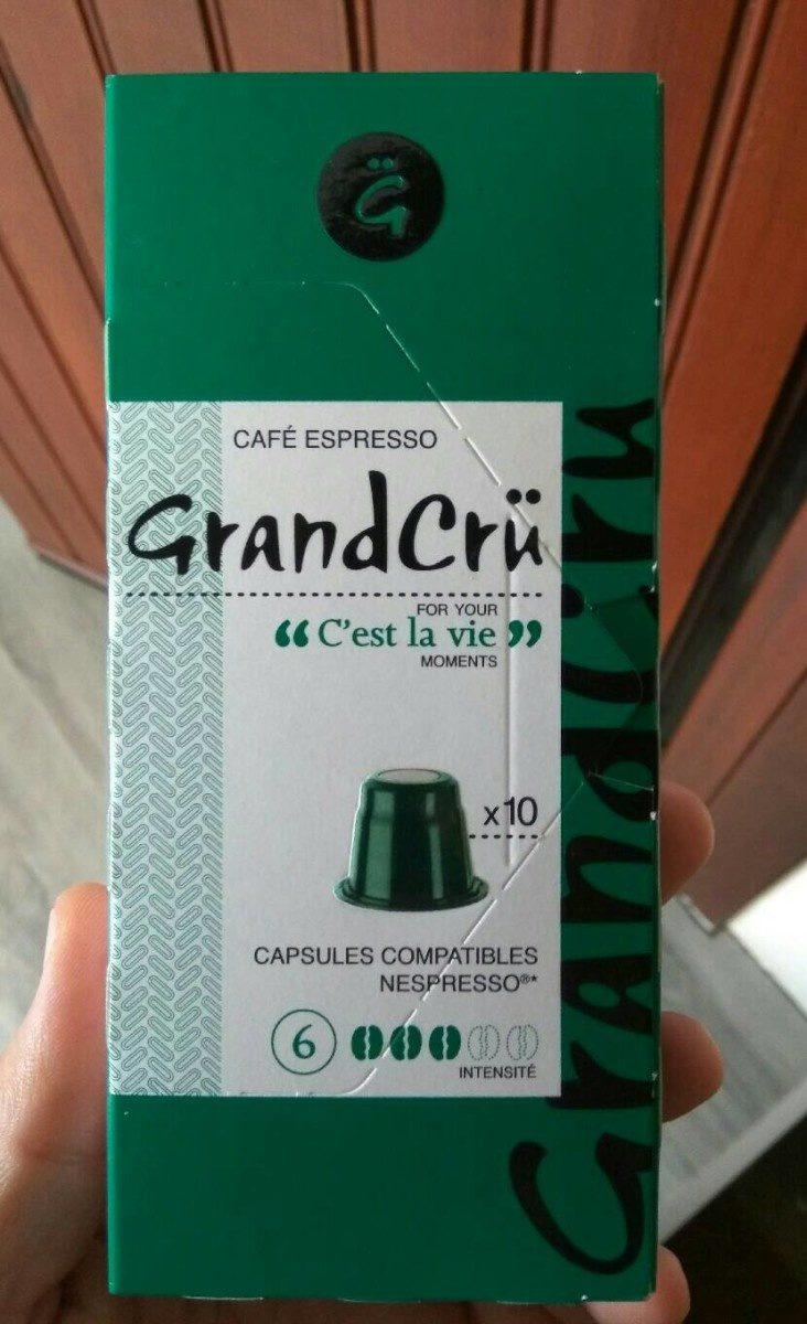 GrandCrü Cafe express c'est la vie - Produit - fr