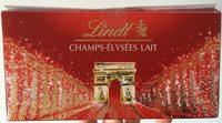 Lindt Champs-Élysées Lait - Product - fr