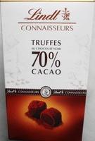 Connaisseurs Truffes au Chocolat Noir 70% Cacao - Product - fr
