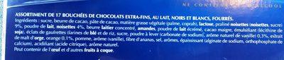 Champs-Elysées - Ingredients - fr