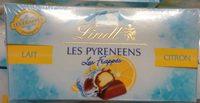 Les Pyrénéens Les Frappés Lait Citron - Produit