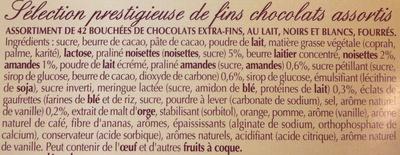 Champs-Élysées Édition Limitée - Ingrediënten