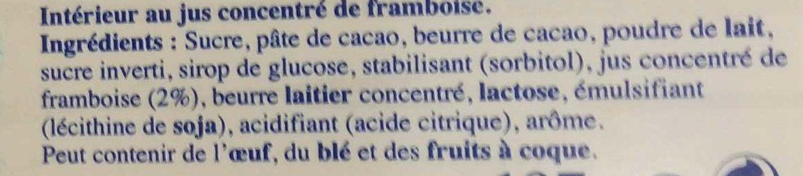 Les Pyrénéens Les Frappés Framboise - Ingrédients