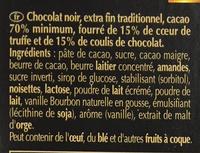 Creation Coulis de Chocolat - Ingrédients - fr