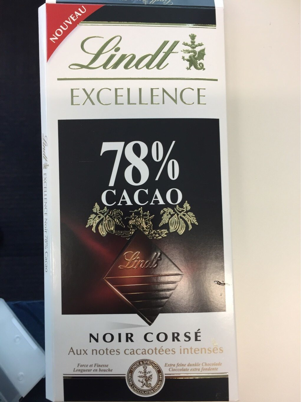 Chocolat noir extra-fin, traditionnel. - Product - en