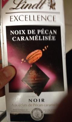 Chocolat noir noix de pécan caramélisée - Producto