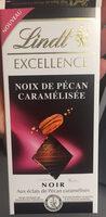 Chocolat noir noix de pécan caramélisée - Producto - fr