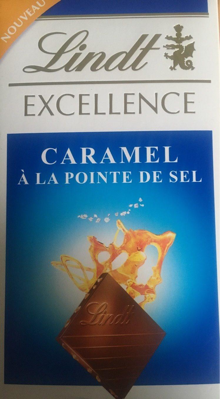 Chocolait au lait & caramel à la pointe de sel - Product