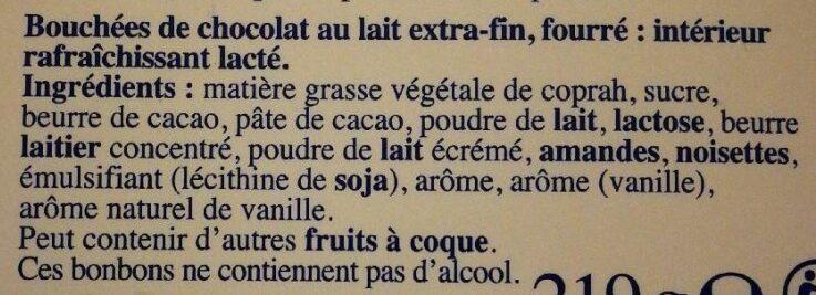 Les Pyrénées - Ingrédients