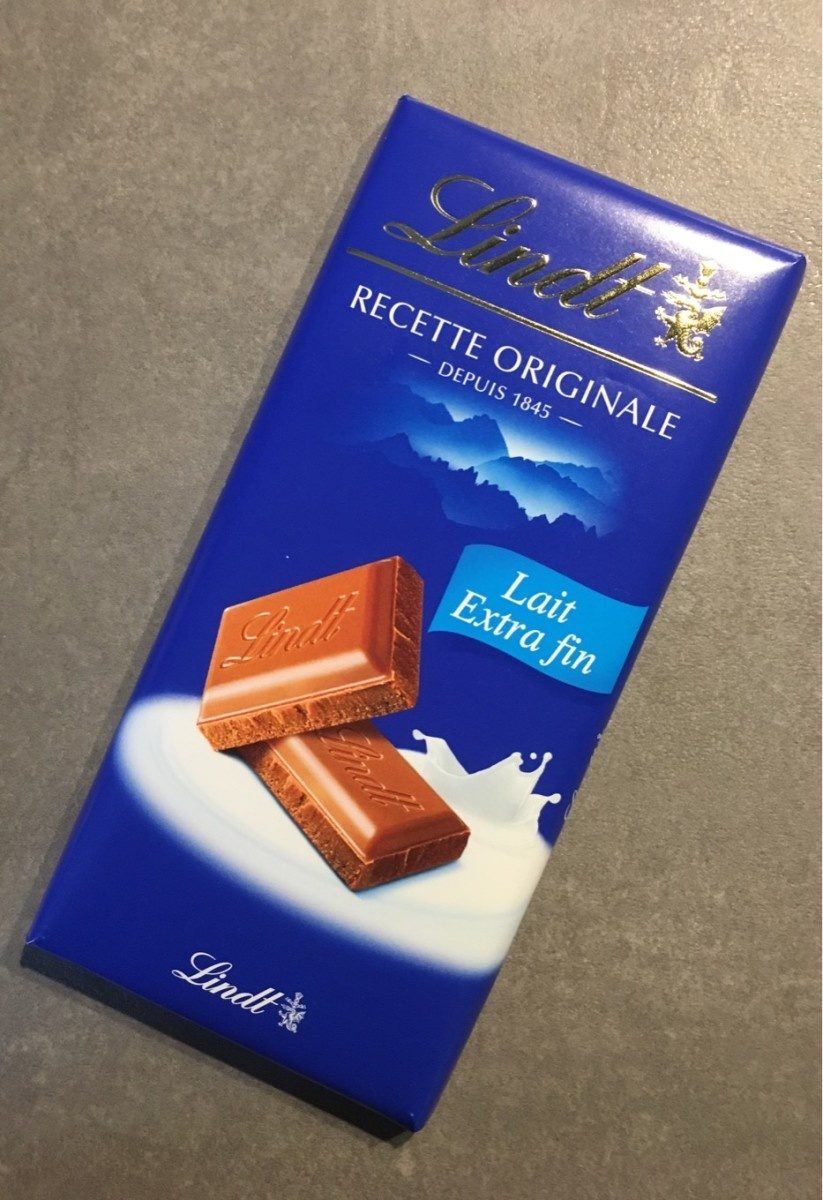Chocolat Lait Extra Fin - Product