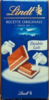 Tablette Recette Originale Double Lait - Produit - fr