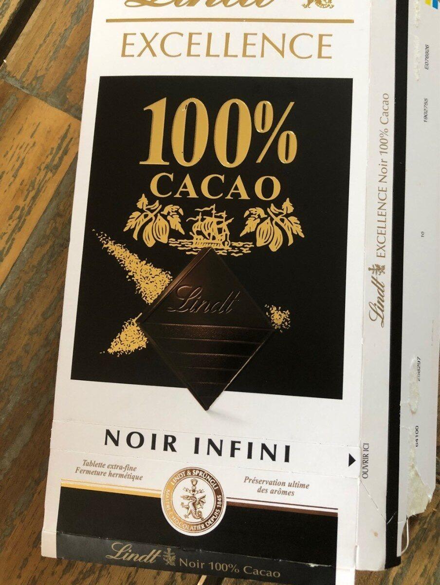 Excellence - 100% cacao noir infini - Produit - fr