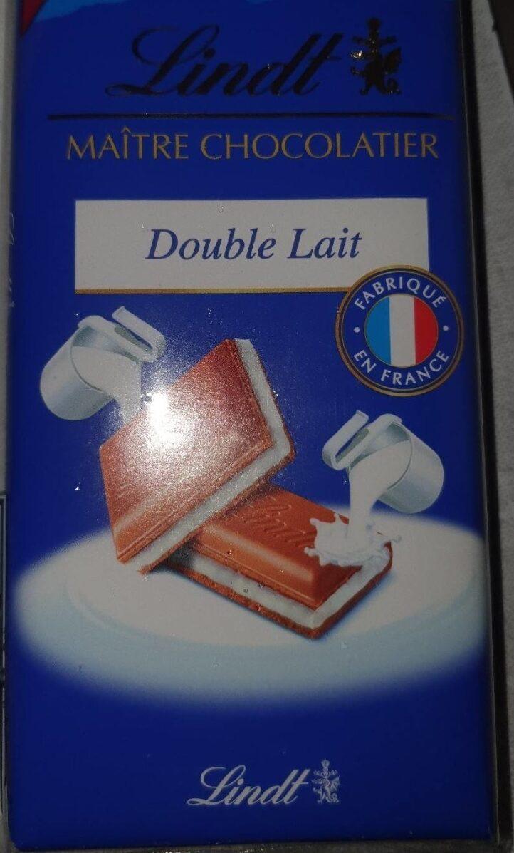 Lindt maître  chocolatier double lait - Product - fr