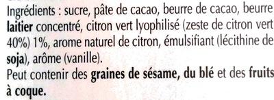 Excellence Dark Lime Intense - Ingrédients - fr