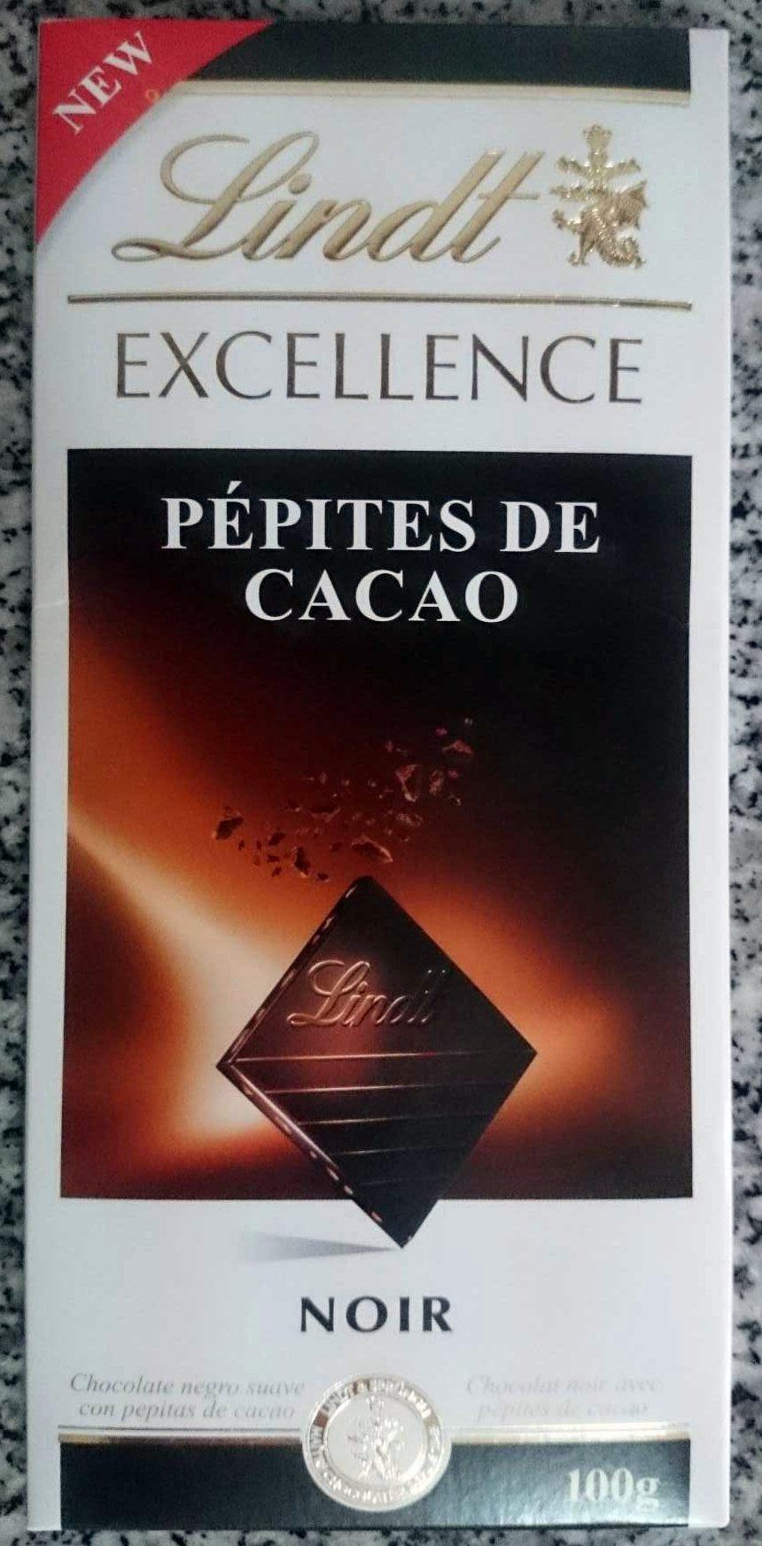 Chocolat noir pépite de cacao - Product - fr