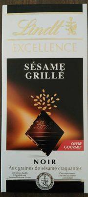 Chocolat noir sésame grillé - Product