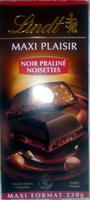 MAXI PLAISIR Noir Praliné Noisettes - Product - fr