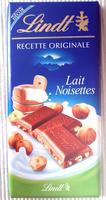 Recette Originale Lait Noisettes - Product