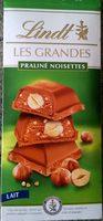 Les Grandes - Chocolat au lait praliné noisettes - نتاج - fr