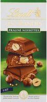 Chocolat au lait praliné noisettes - نتاج - fr