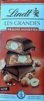 Les grandes Praliné noisette noir - Produit - fr