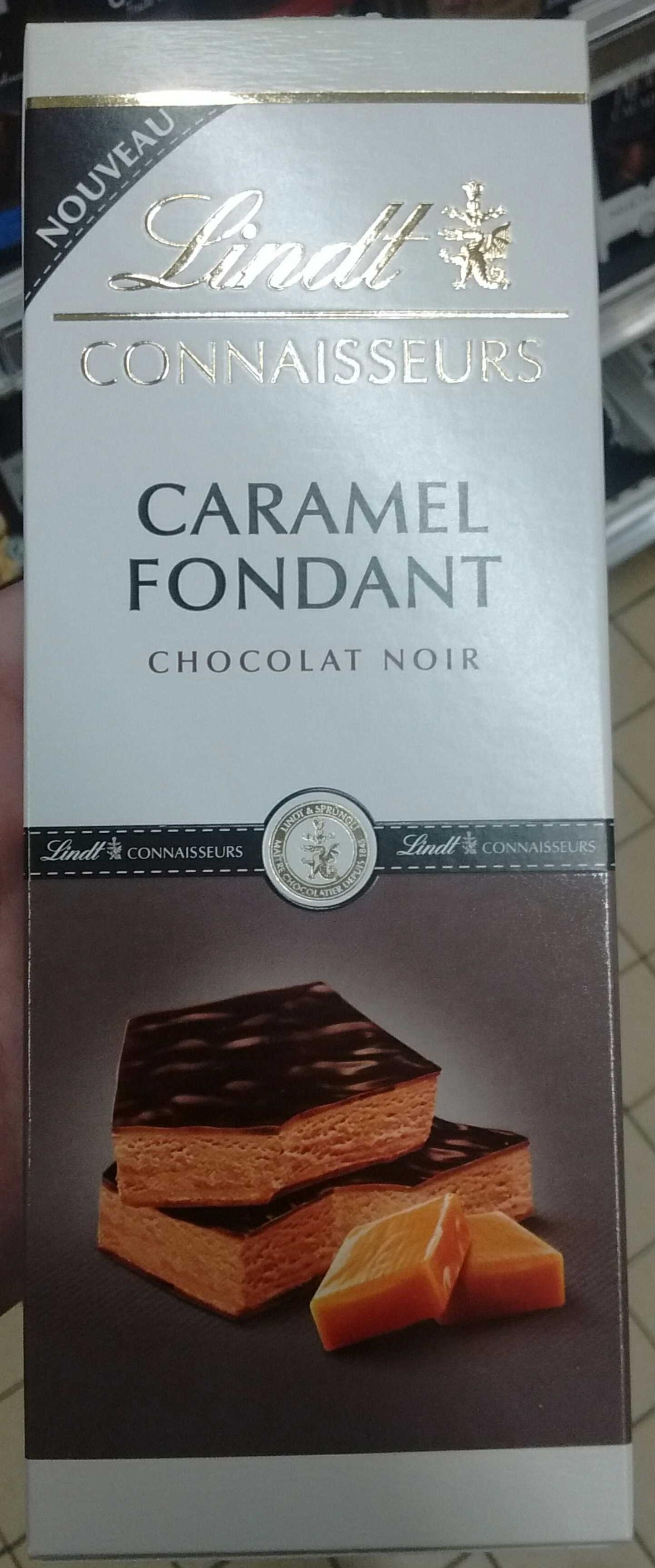 Connaisseurs Caramel Fondant Chocolat Noir - Product