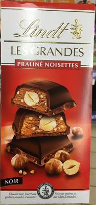 Les Grandes Praliné Noisettes Noir - Product - fr