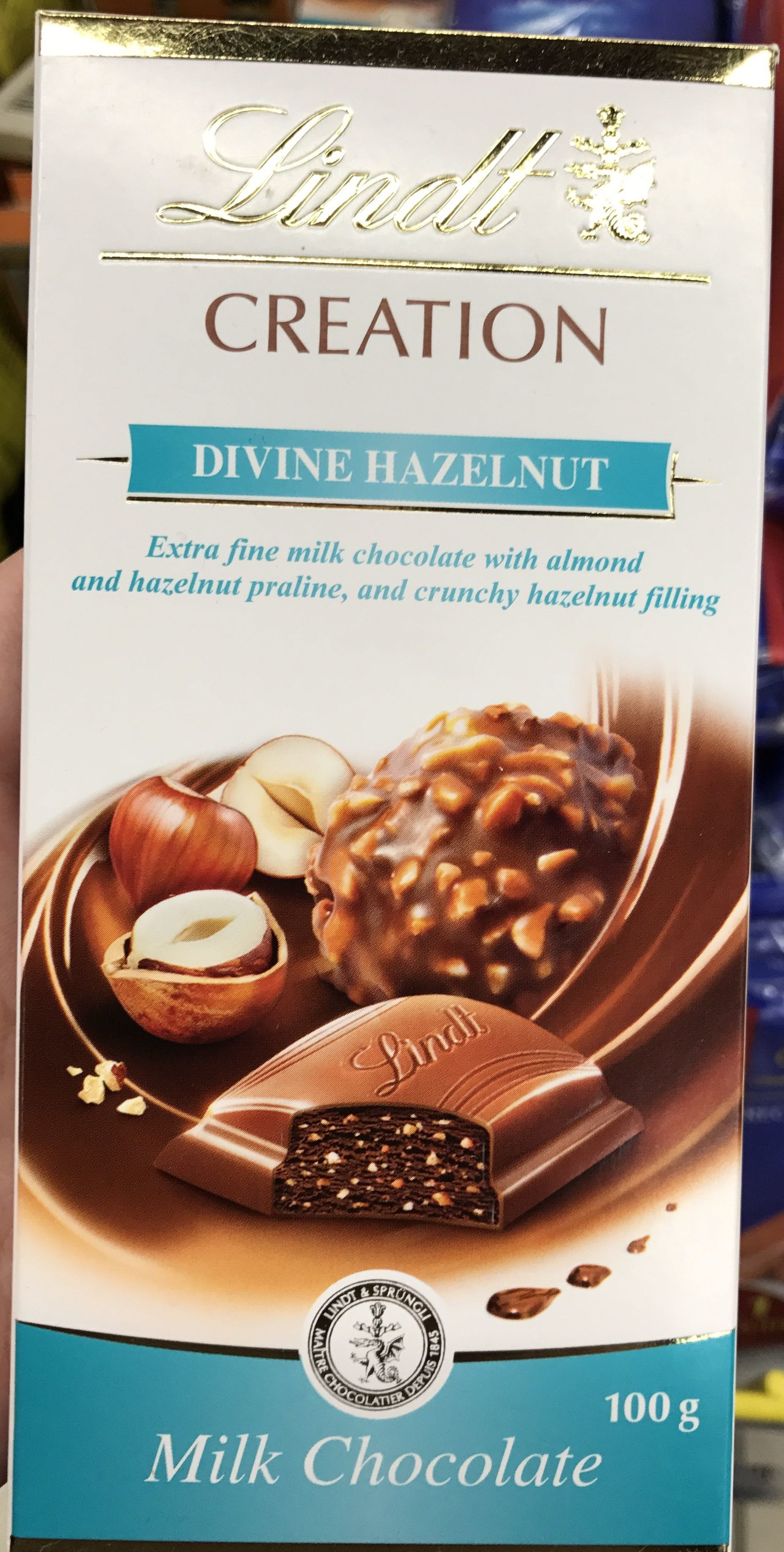 Creation Divine Hazelnut Milk Chocolate - Product