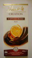 Xocolata Negra Creation Tòfona I Taronja Lindt - Product - en