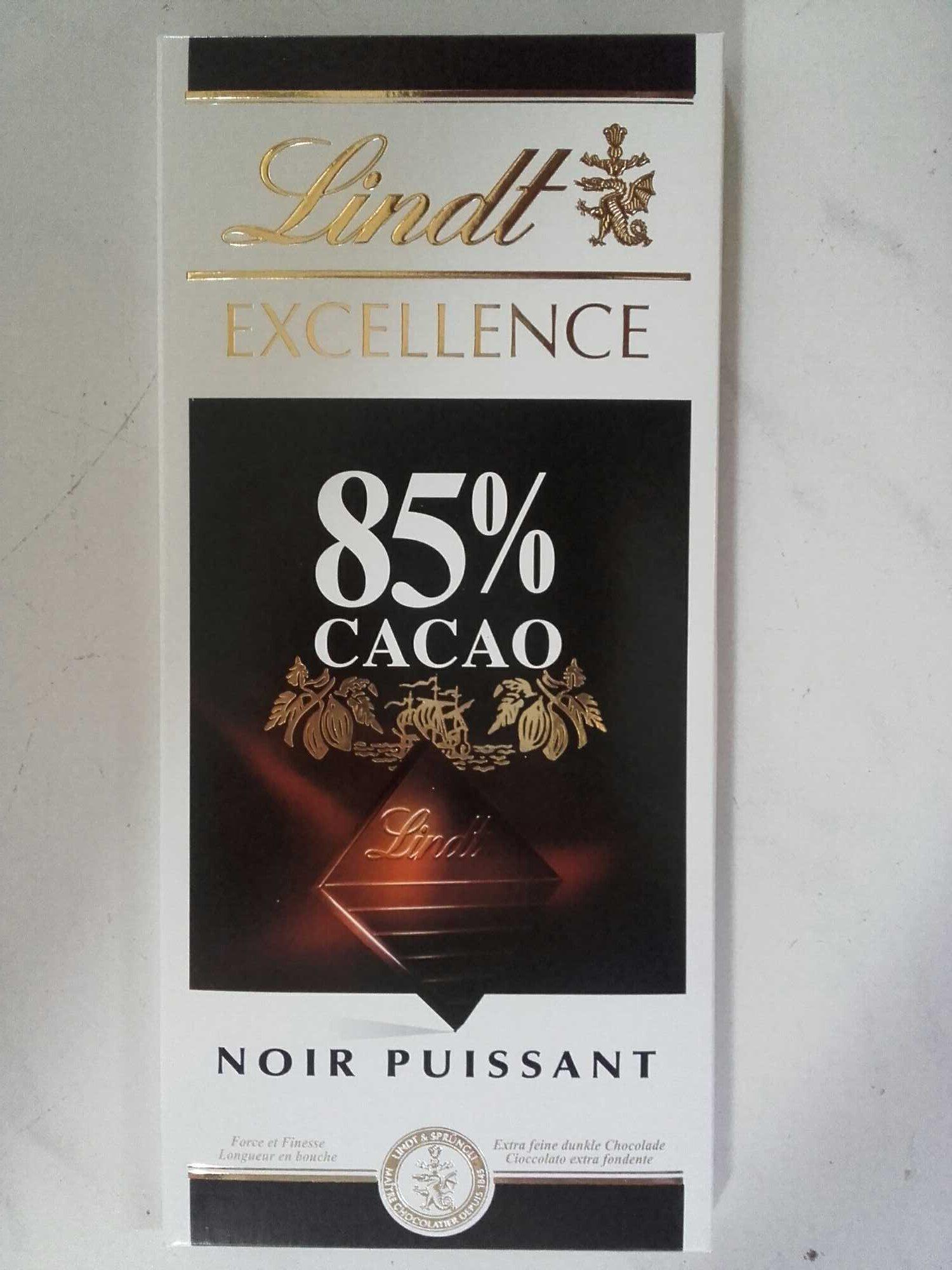 Chocolat Noir 85% Cacao - Producto