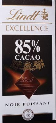 chocolat   lindt  85  de  cacao - Product - fr