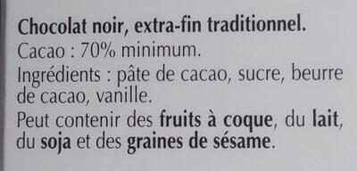 Excellence 70% Cacao Noir Intense - 35