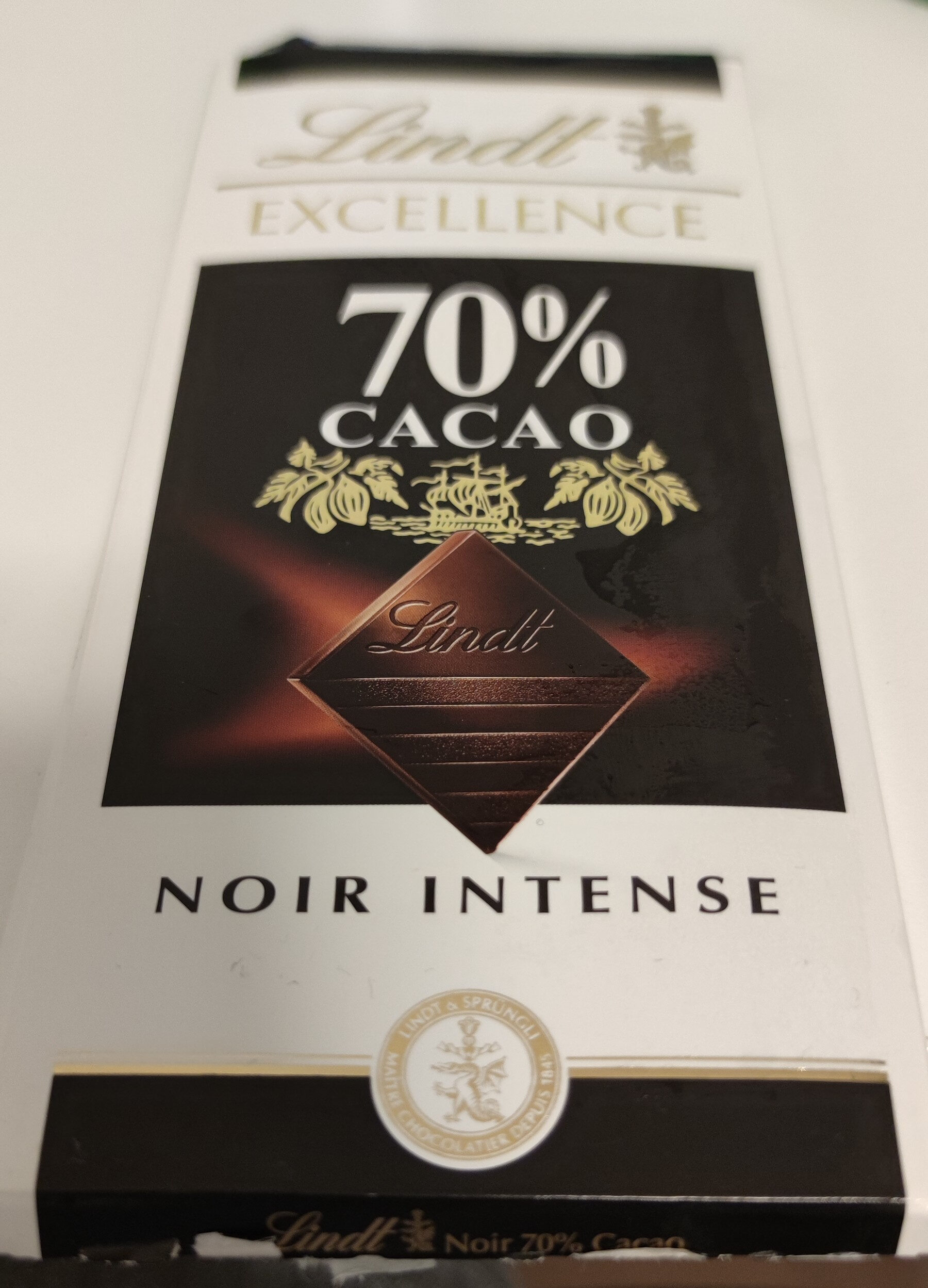 Excellence 70% Cacao Noir Intense - Product - fr