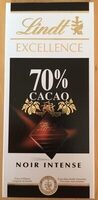 Excellence 70% Cacao Noir Intense - Product