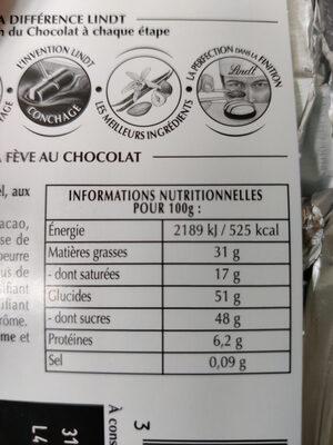 Excellence - Chocolat noir orange intense - Product - fr