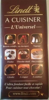 Lindt - A cuisiner L'universel - Product - fr