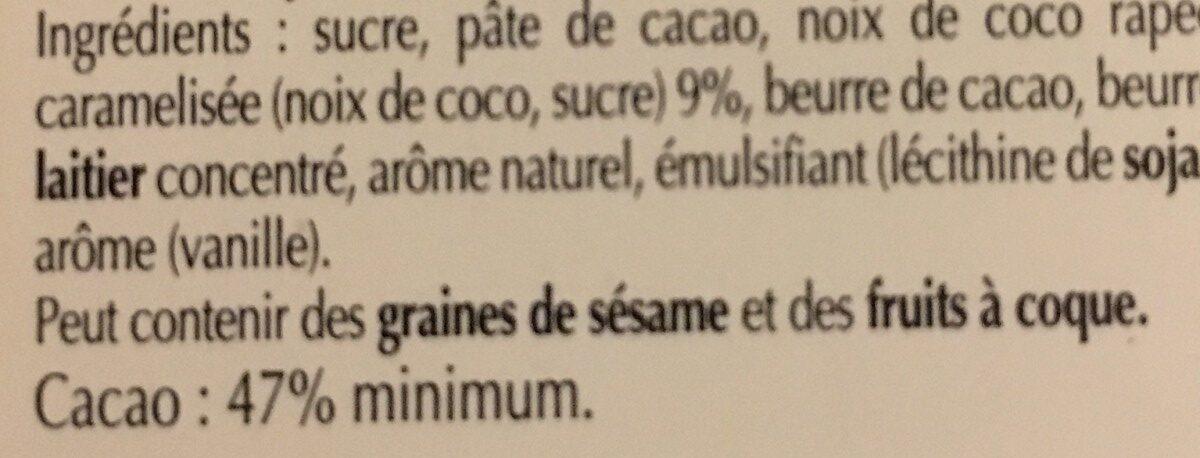 Excellence noix de coco intense noir - Ingredients - fr